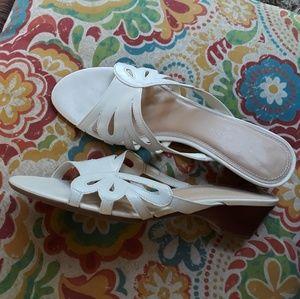 Naturalizer Heeled Slide Sandals 7